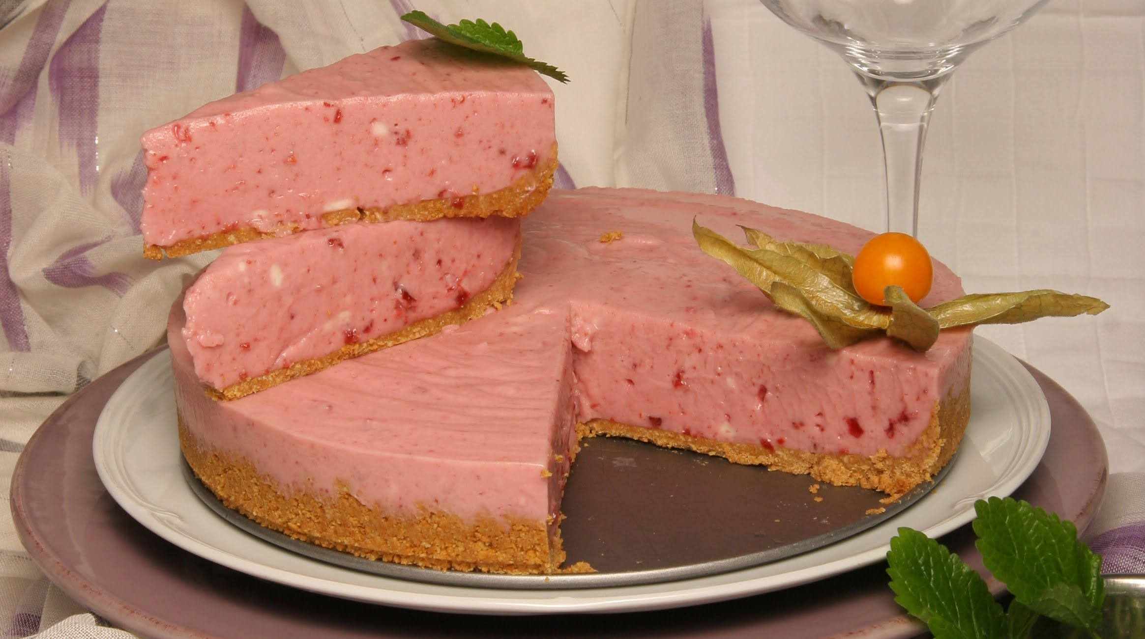 cheesecake de cereja