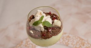 Cheesecake de leite condensado em copo
