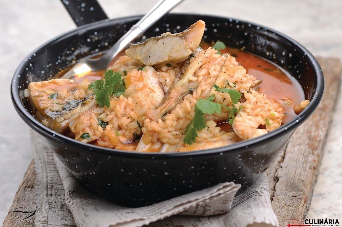 arroz de lingueirao e corvina