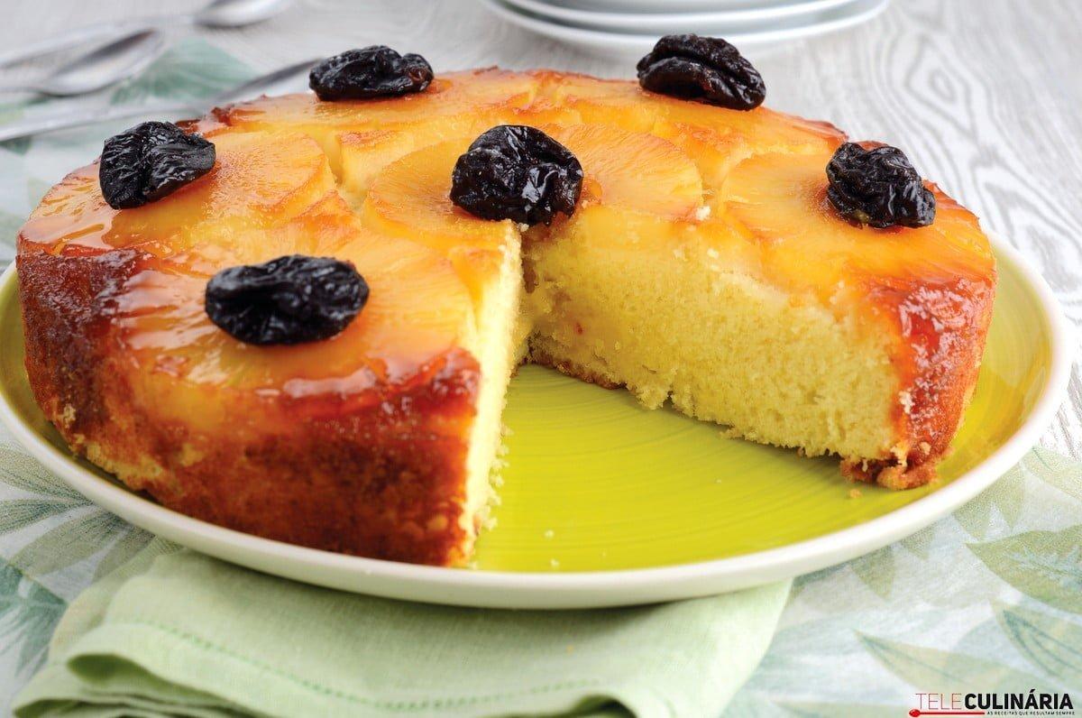 bolo de ananas delicia