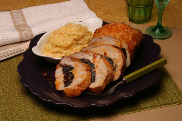 lombo de porco com arroz de cenouras 6