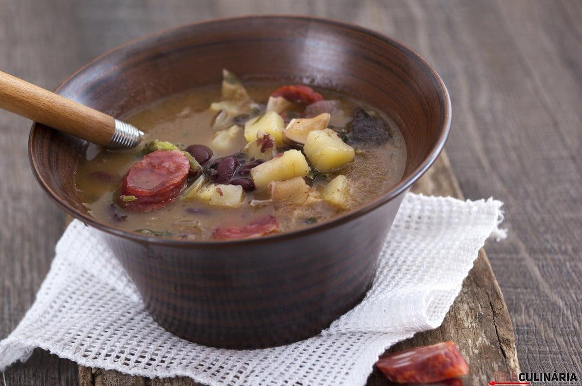 sopa da pedra