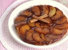 Tarte de maçã invertida