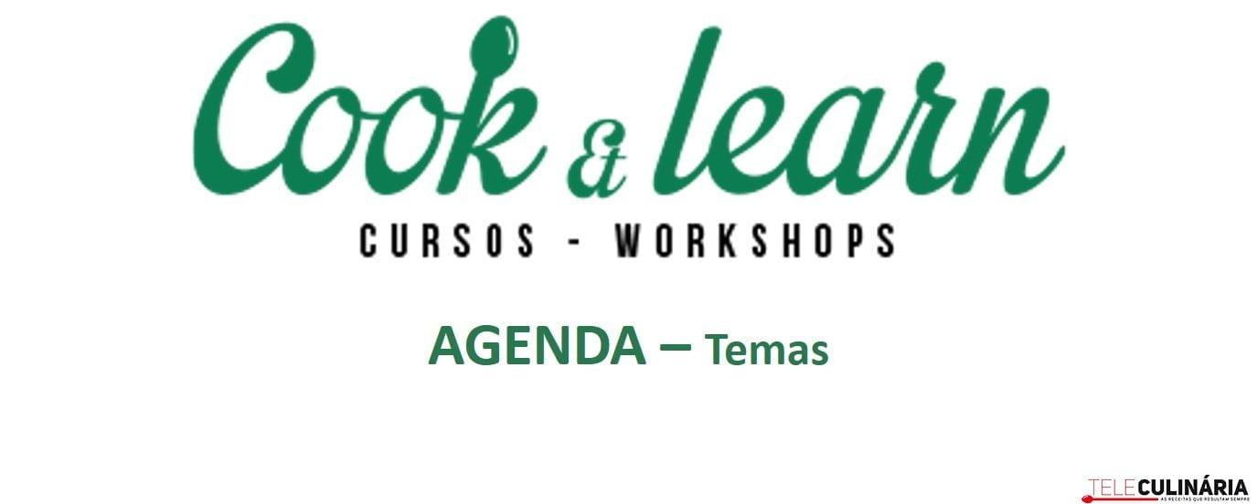 CookLearn Agenda Temas