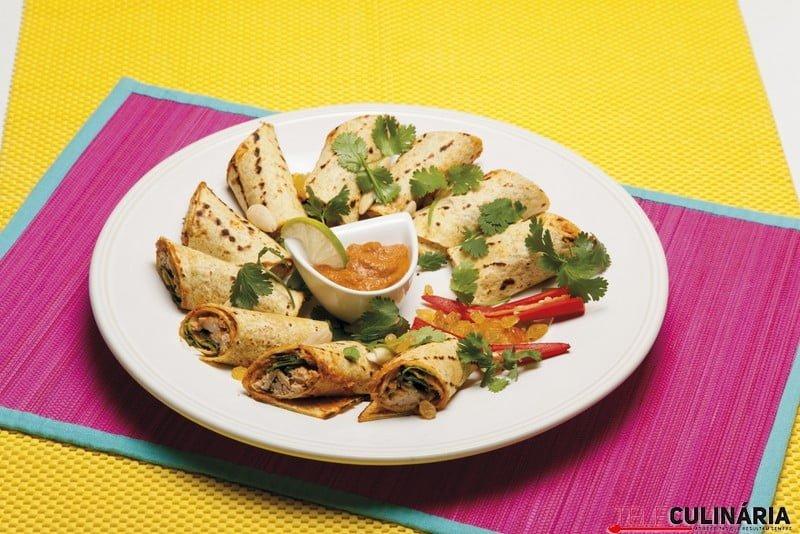 Enchiladas de frango