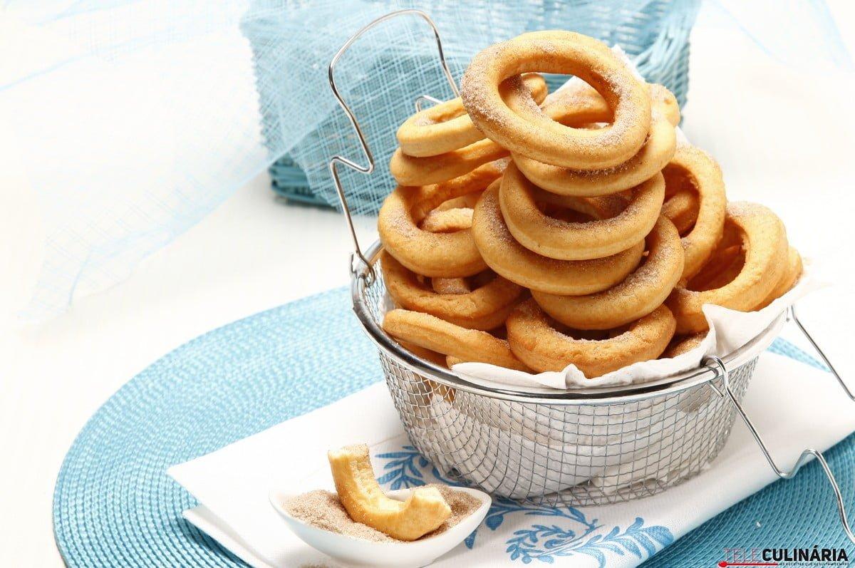 argolas doces fritas