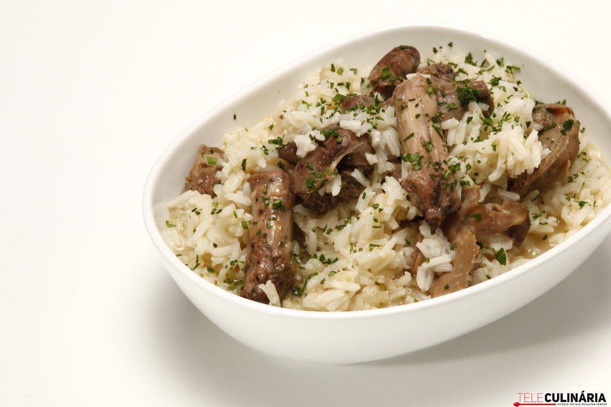 arroz de miudos