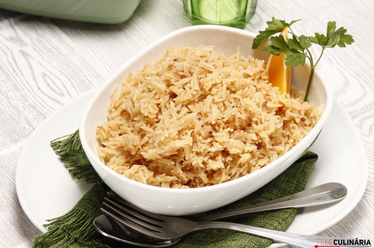 arroz dourado