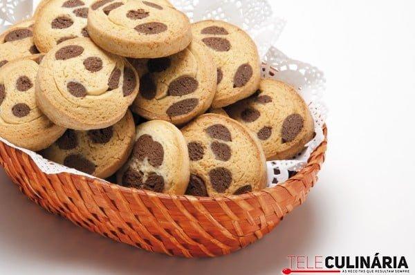 biscoitos riscados