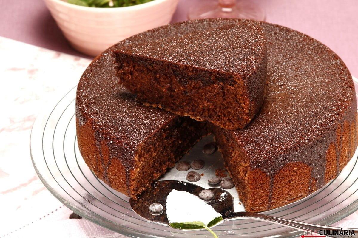 bolo de chocolate com azeite