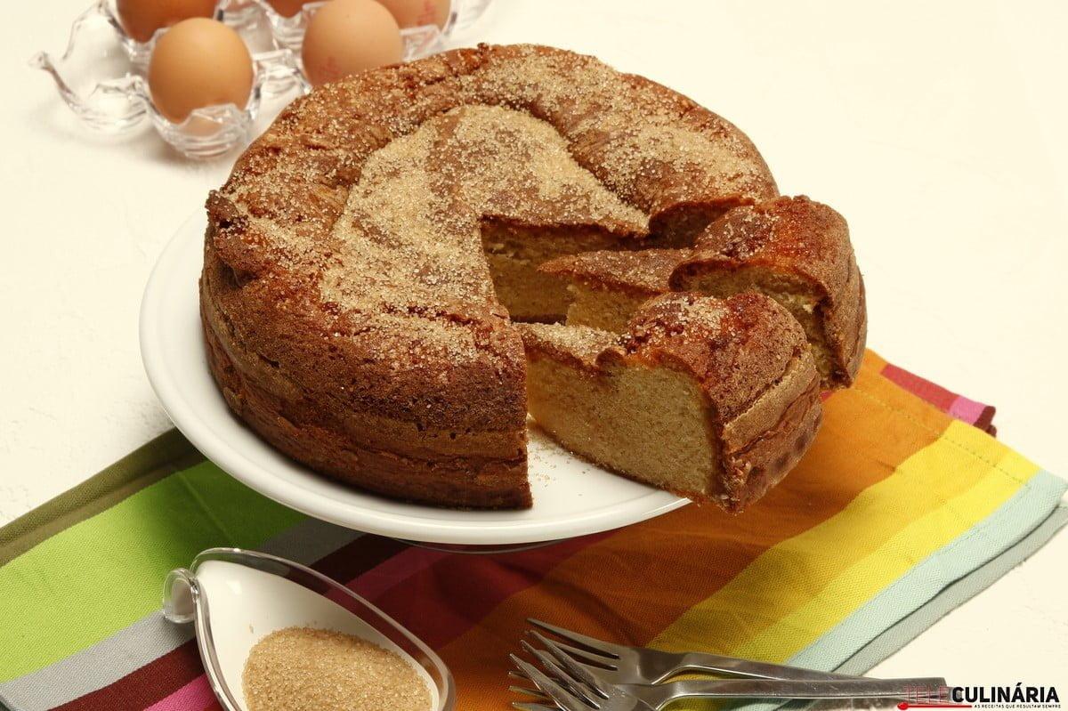 bolo de crosta