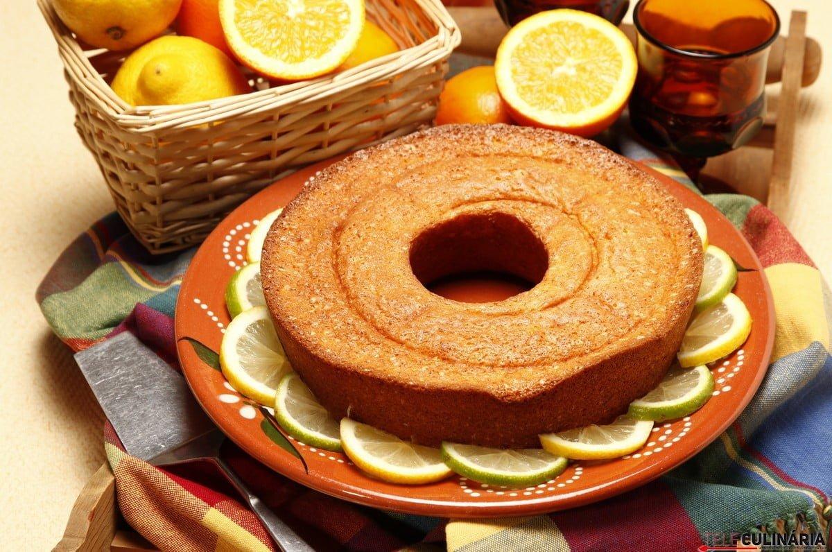 Receita de bolo de laranja