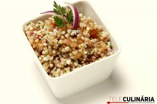 salada de trigo sarraceno