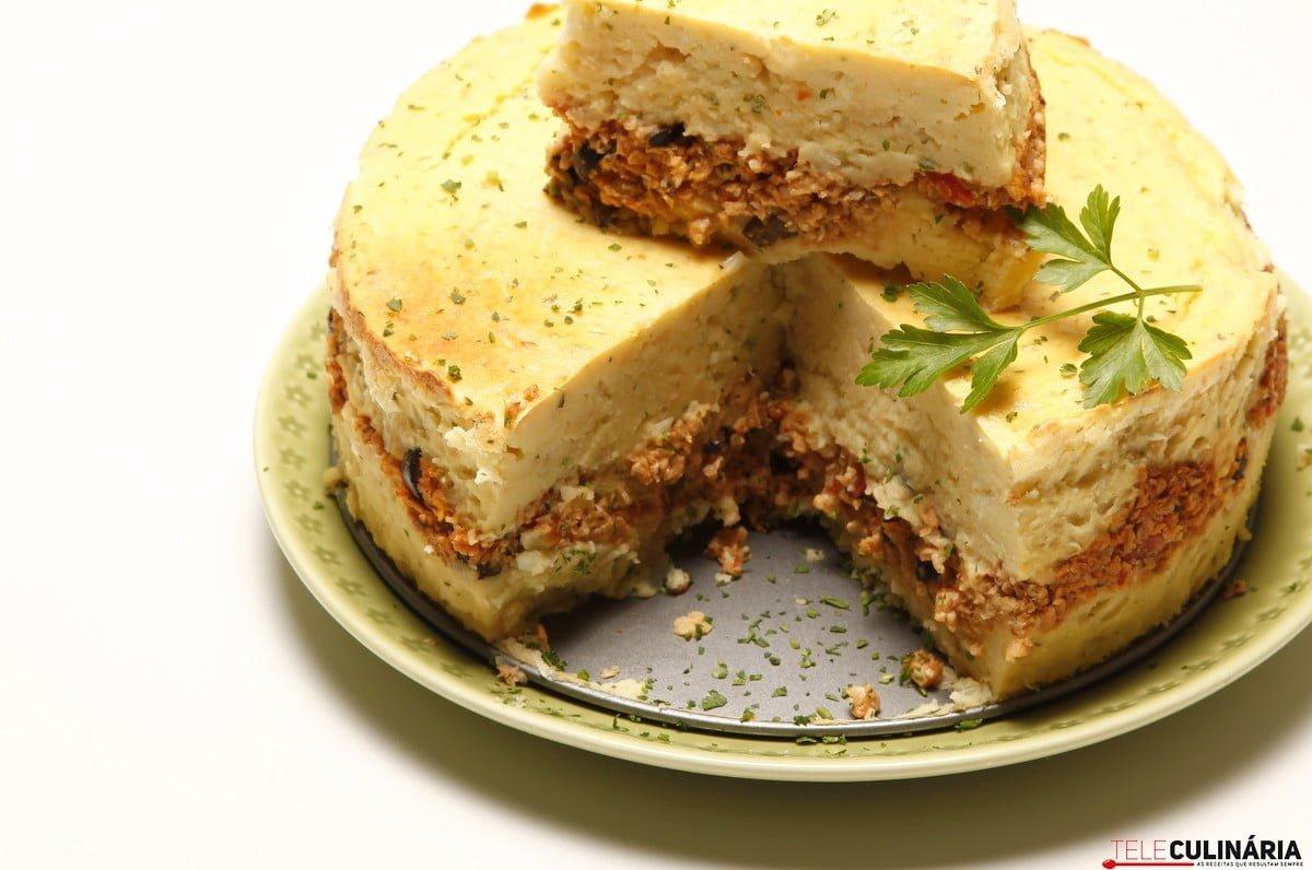 tarte de batata com soja