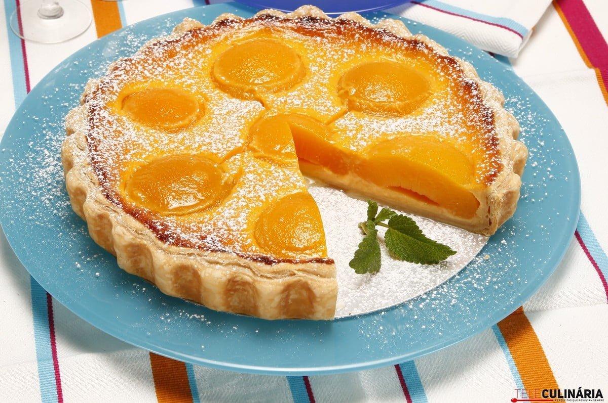 tarte de pêssego