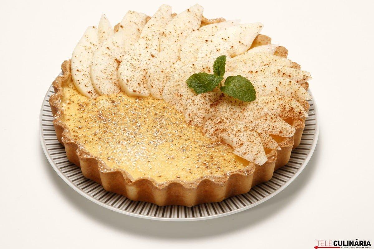 tarte pasteleira de pera