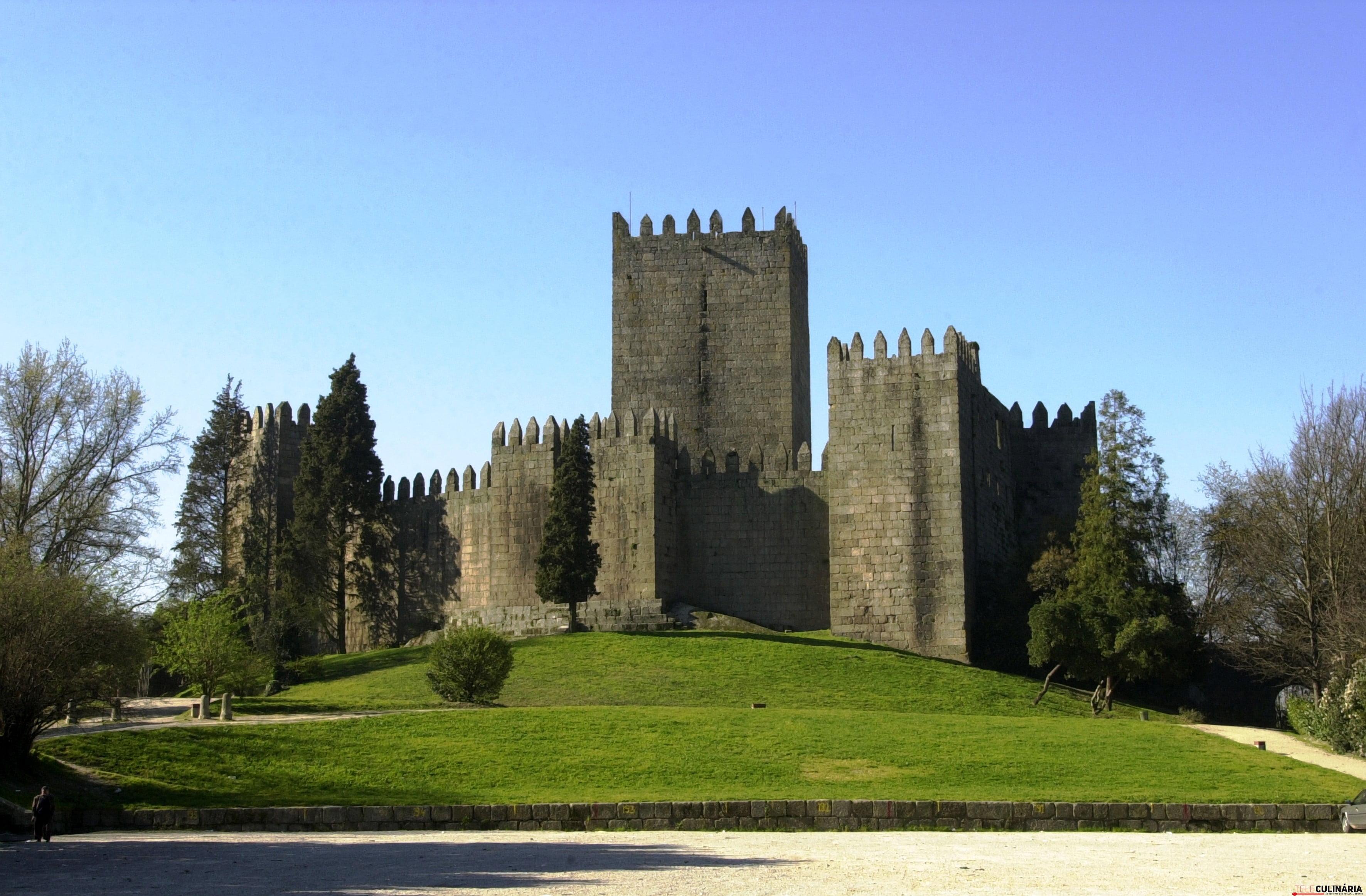 Castelo Guimar+úes.Postal