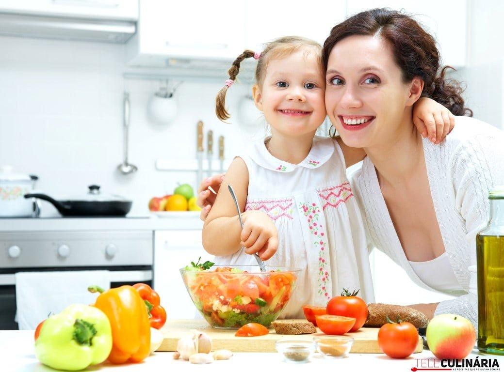 Cozinhar com crianças (Medium)