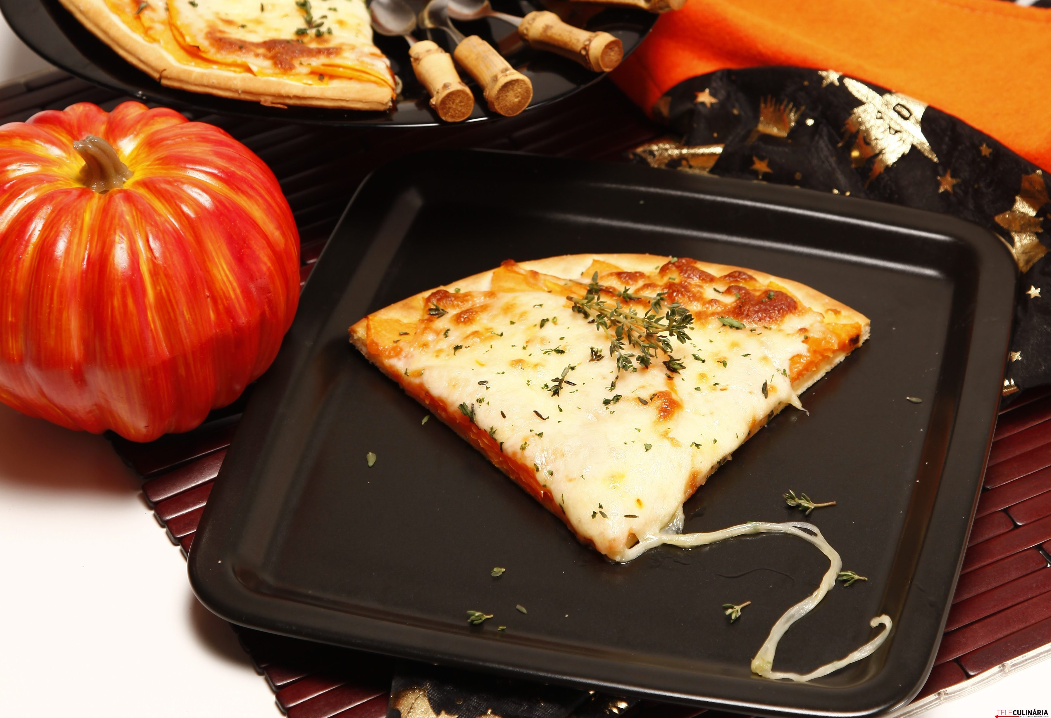 Pizza de abobora
