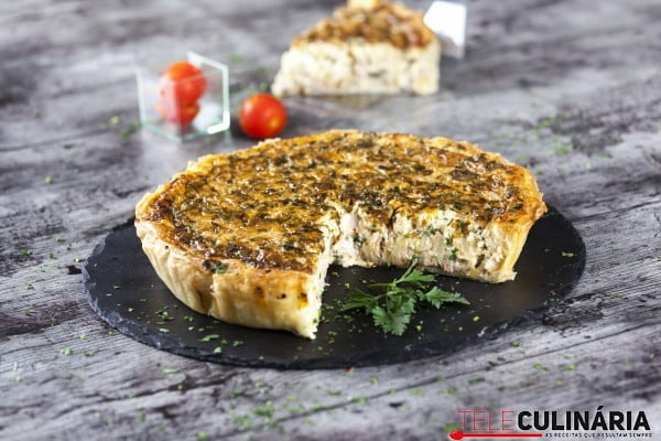 Quiche de atum e cebola CHAA 2