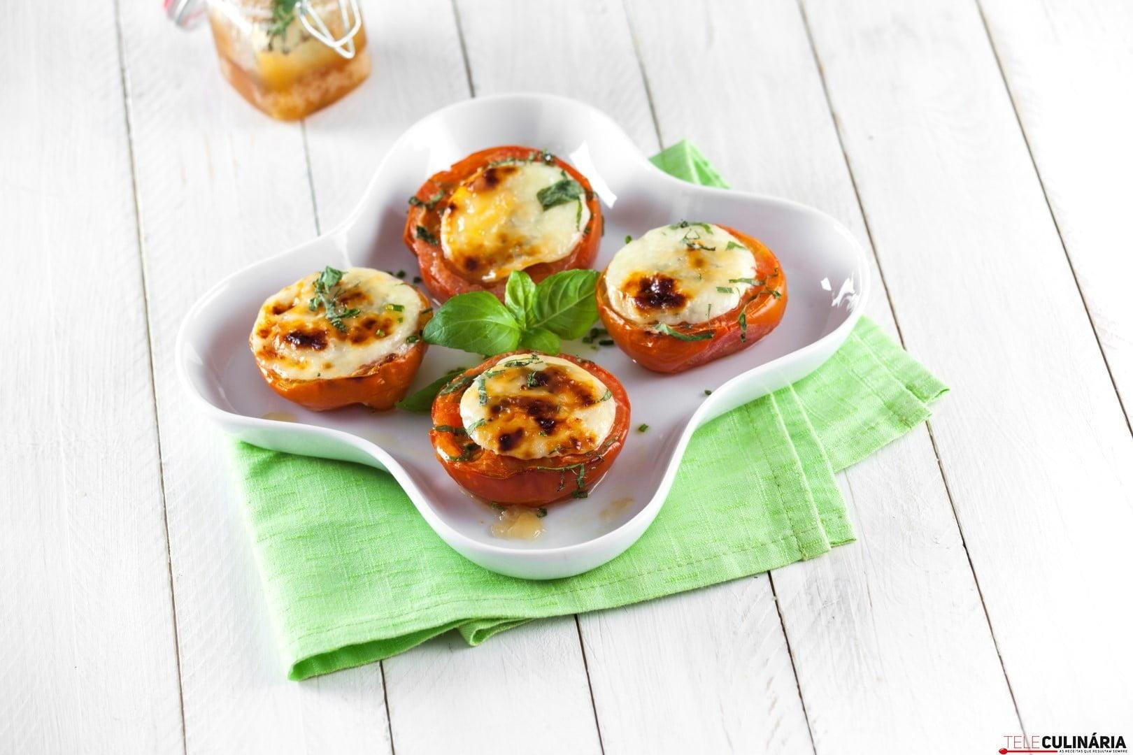 Tomate com queijo fresco gratinado CHLJ 11 Large