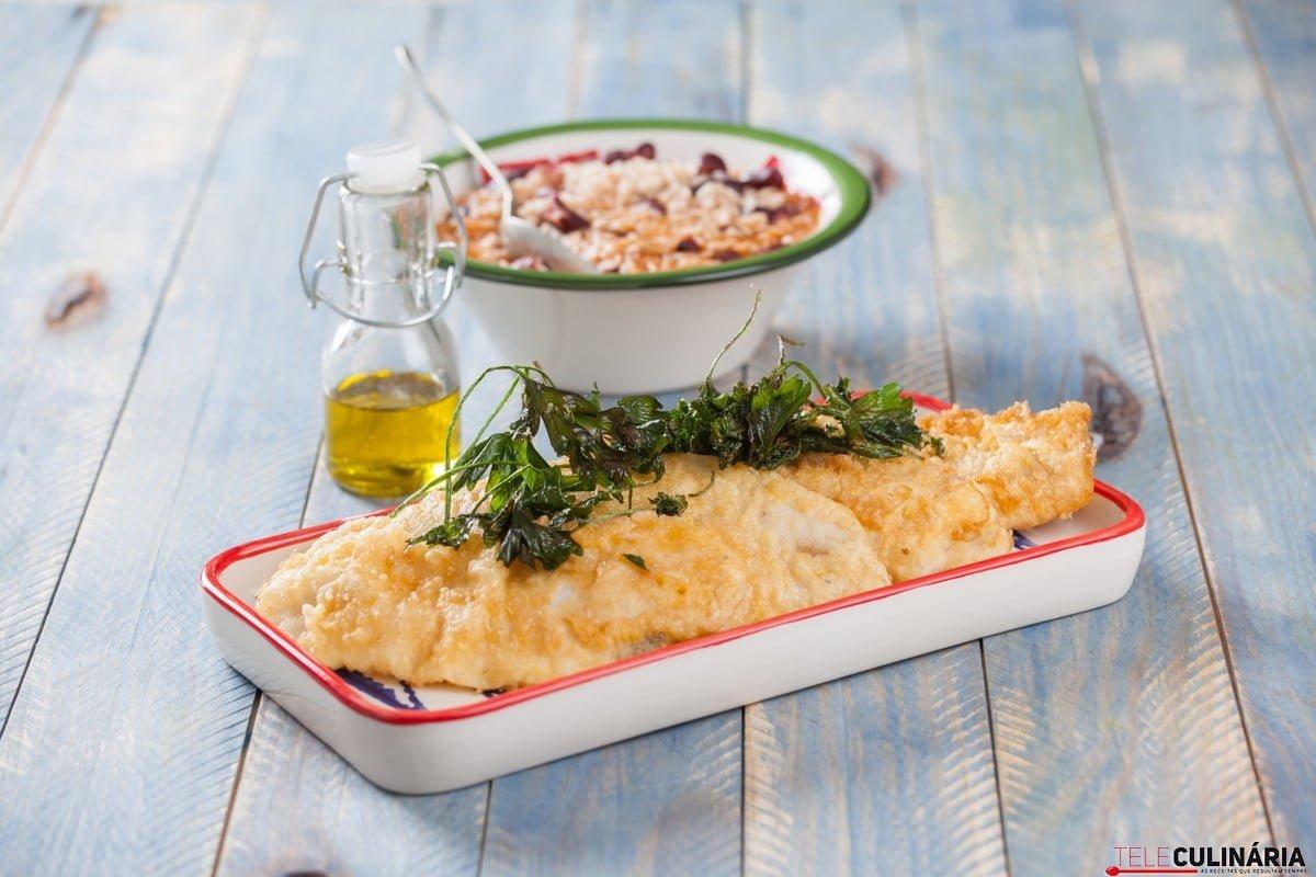 Filetes de peixe com arroz CHAA 5