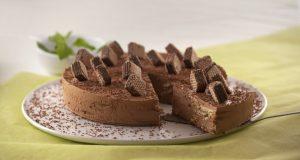 Semifrio de Bolacha e Chocolate