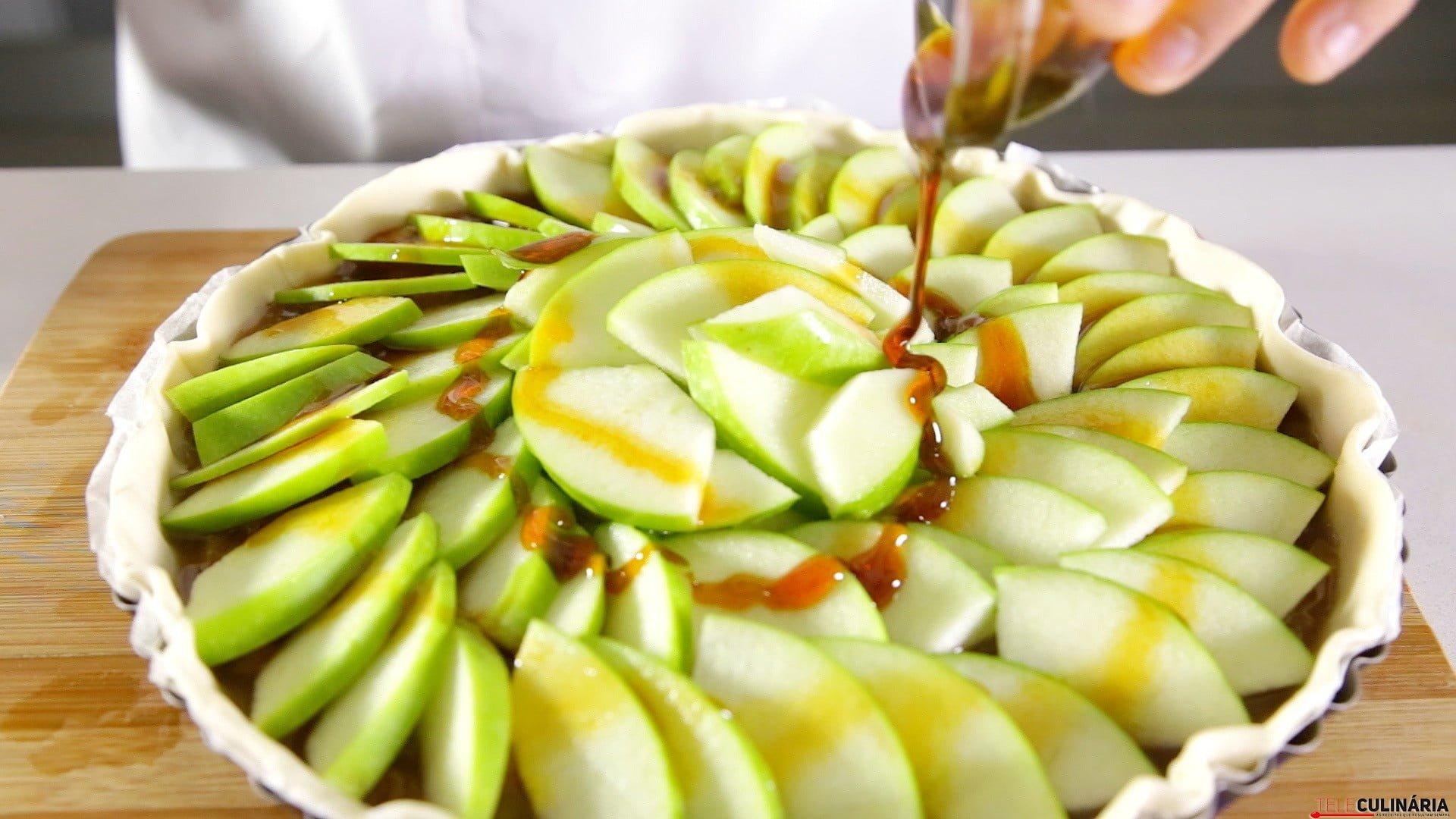 Tarte de maçã rústica