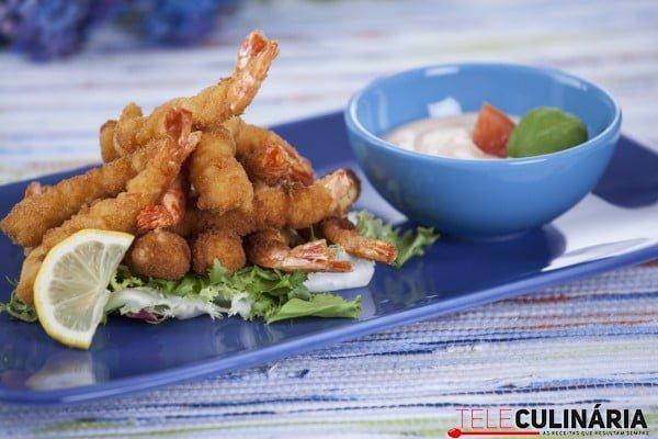 camarão panado com molho 21