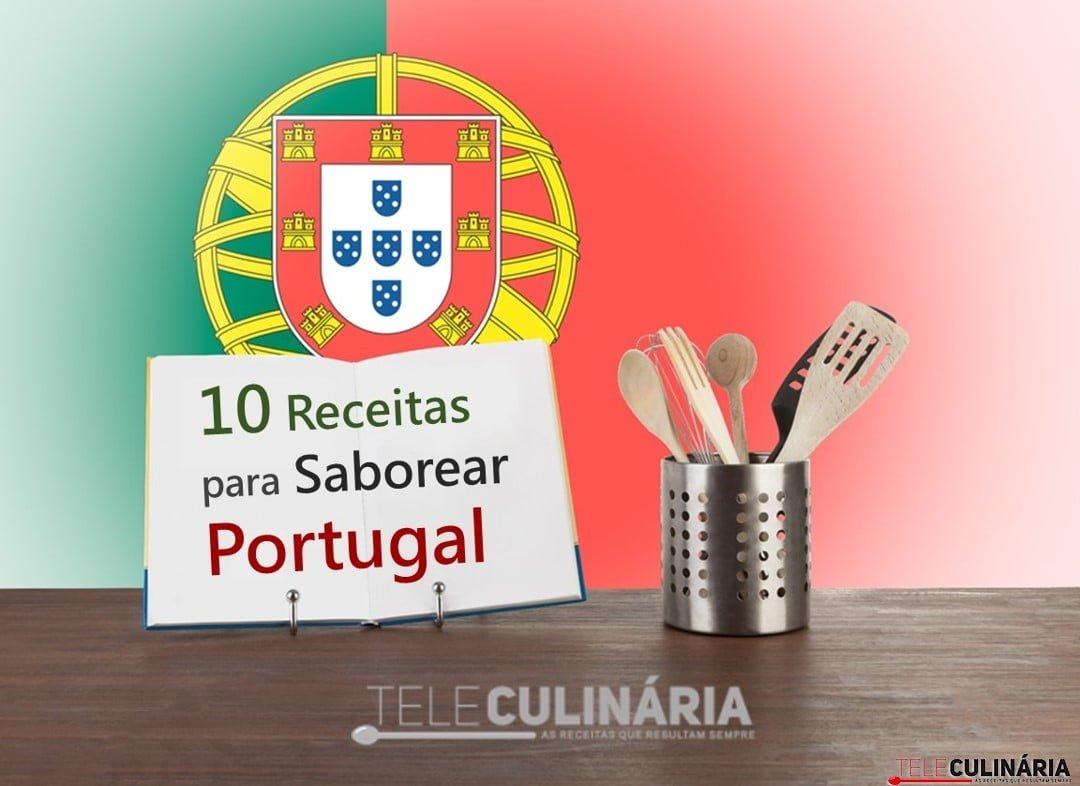 10 receitas teleculinaria saborear portugal sem