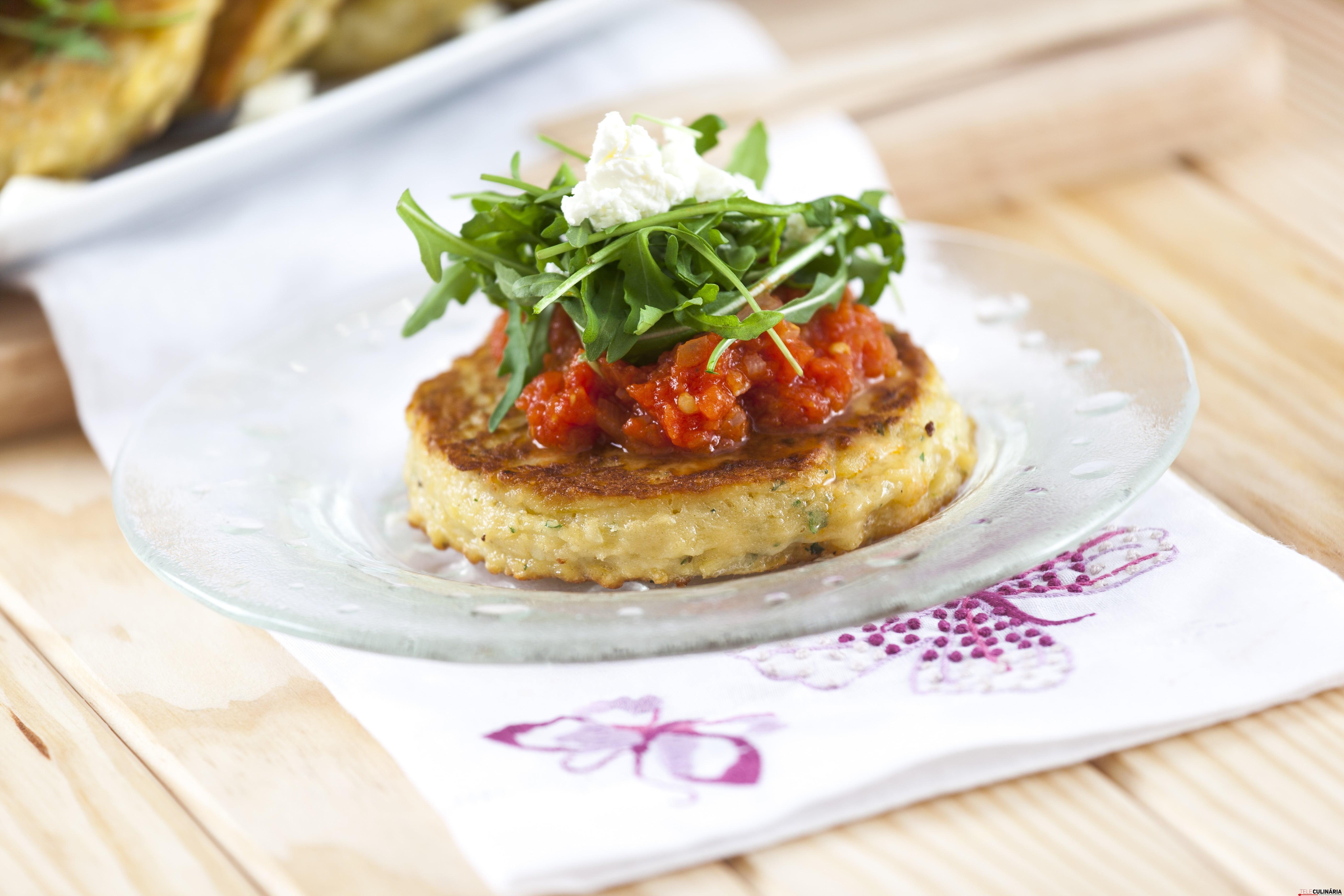 RF Panquecas de Batata com Tomate Estufado SM 014