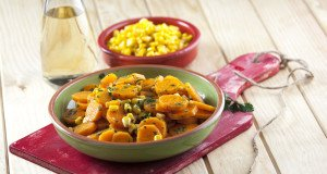 Cenourinhas marinadas com milho