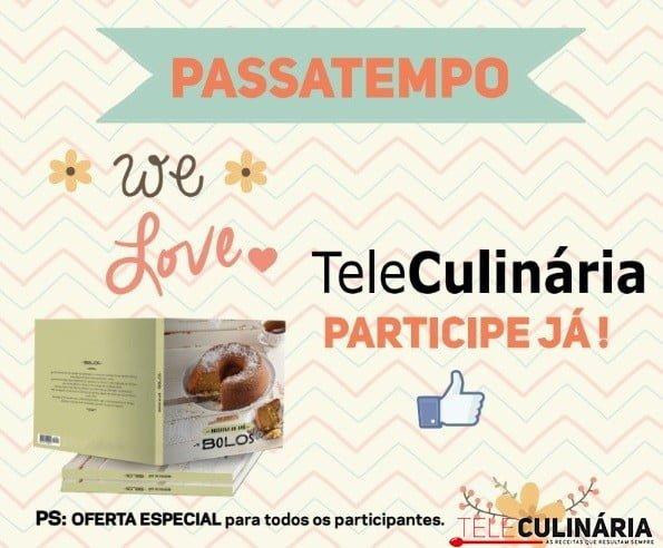 Passatempo We Love Teleculinária