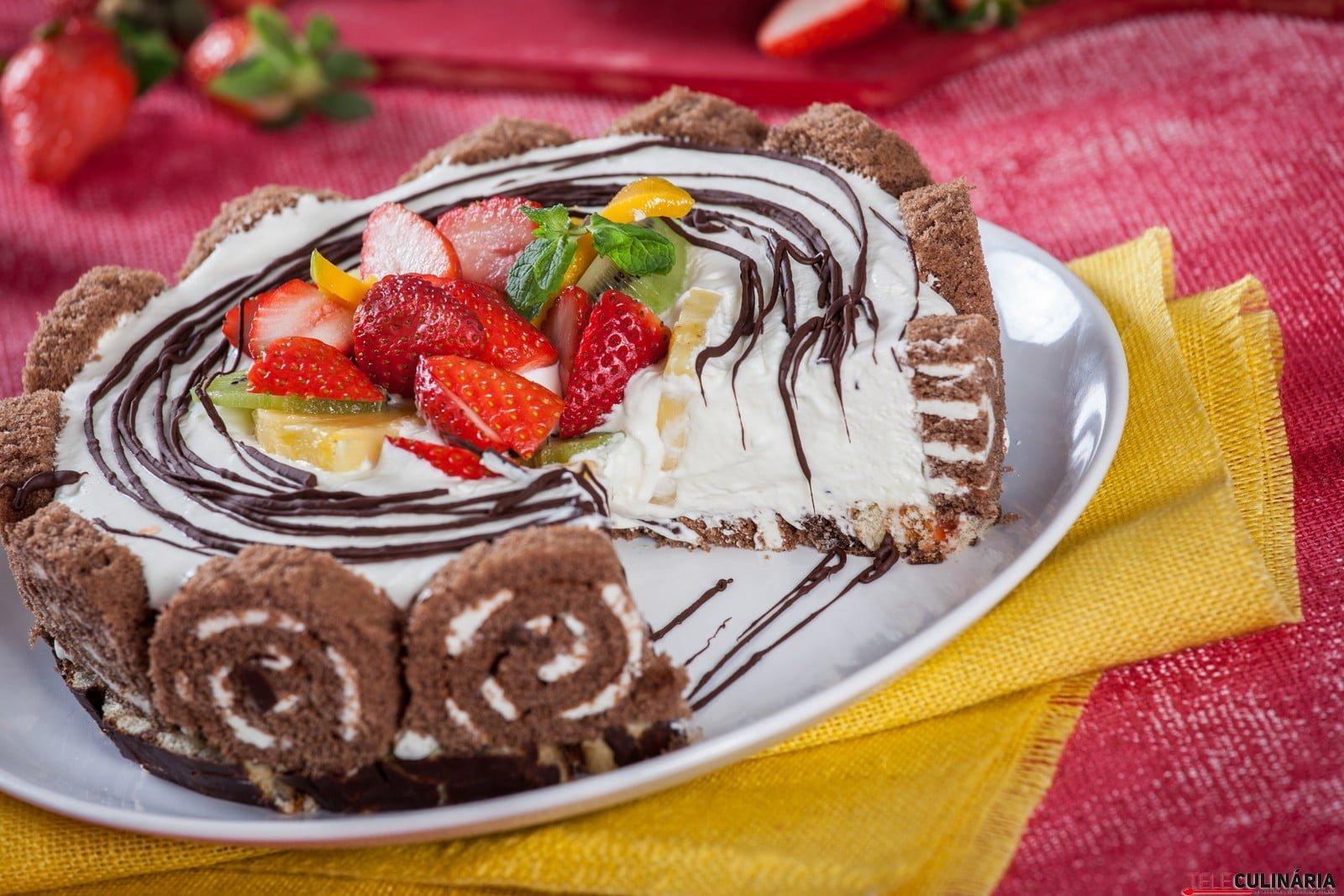 Semifrio de natas e chocolate CHLM 87