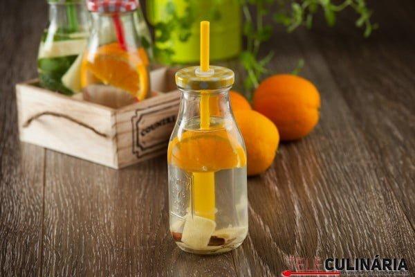 agua aromatizada com laranja 1
