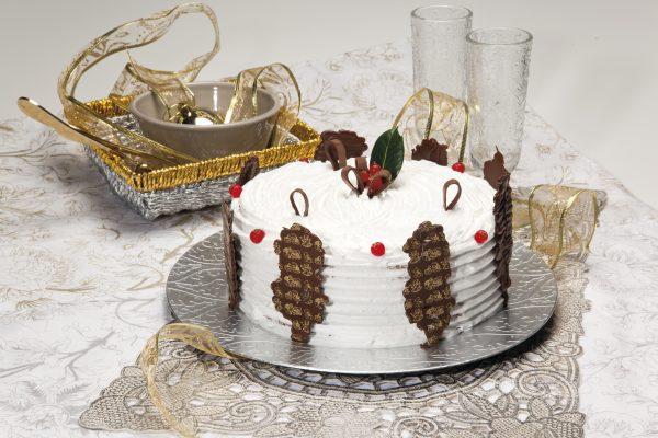 Bolo mousse de chocolate Natal