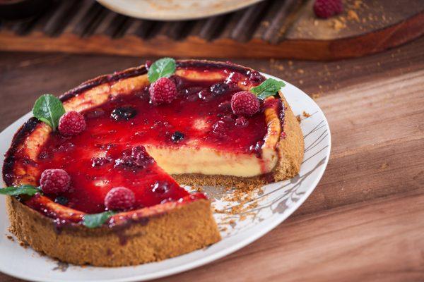 Cheesecake de forno CHLM 6