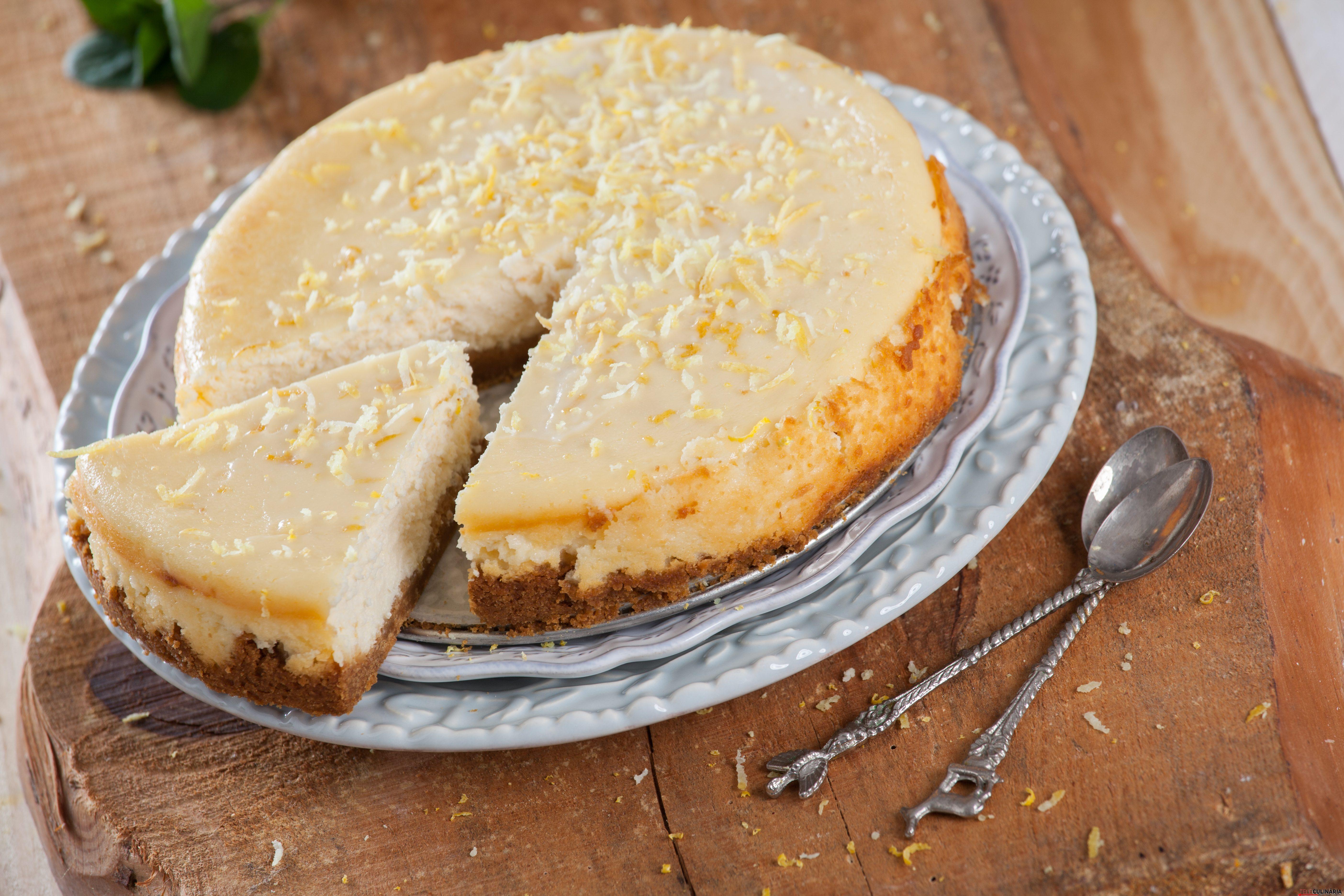 Cheesecake de limão no forno CHAA 15