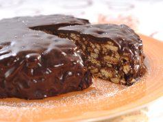 Receita de salame de chocolate enformado