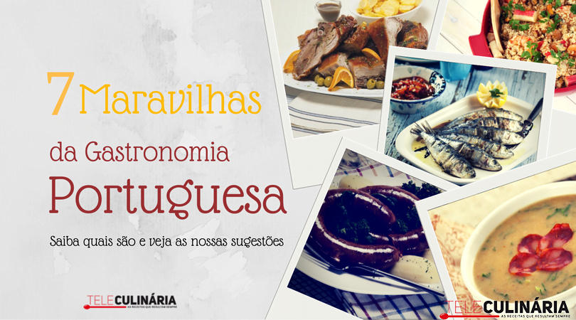 7 maravilhas gastronomia portuguesa TC