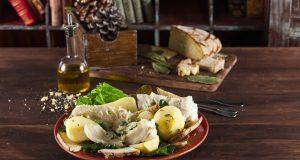 Bacalhau cozido especial de Natal
