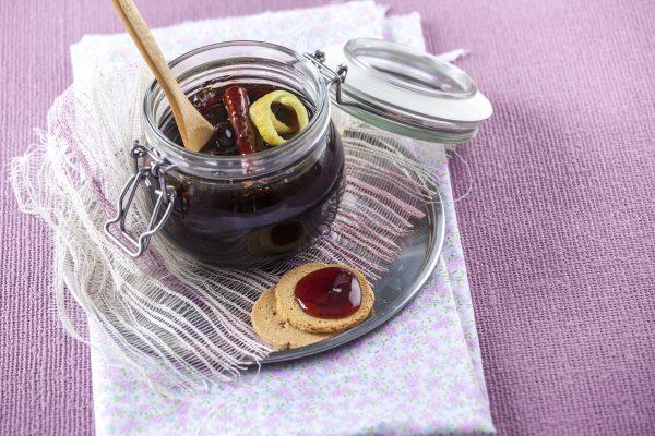 Compota de uvas