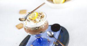 Mousse de Chocolate e Limão