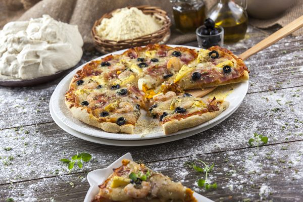 Receita de pizza havaiana