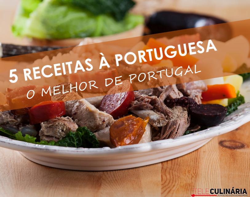 5 Receitas à Portuguesa