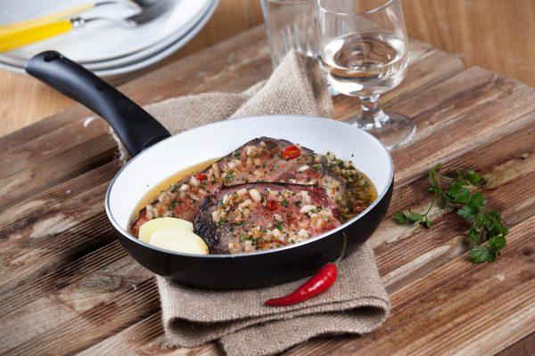 Bife de atum à madeirense CHLM 5