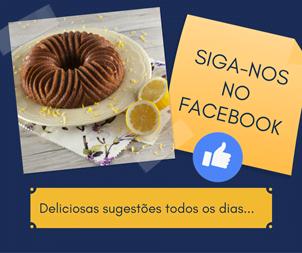 Siga o Facebook da TeleCulinaria