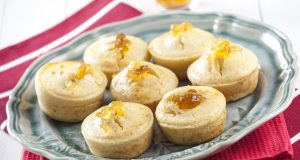 Muffins de geleia