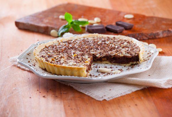 Tarte de chocolate com amêndoa CHPS 4