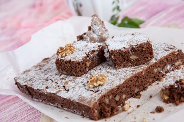 brownies de nozes
